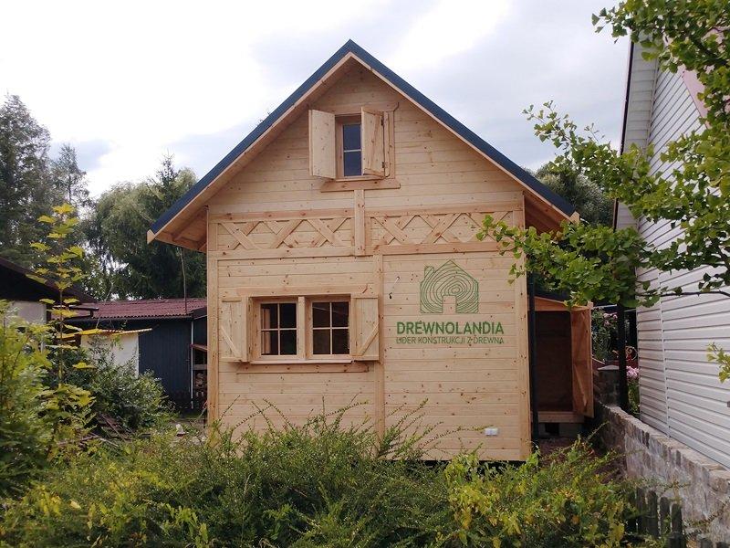 Domki z drewna montaz cena