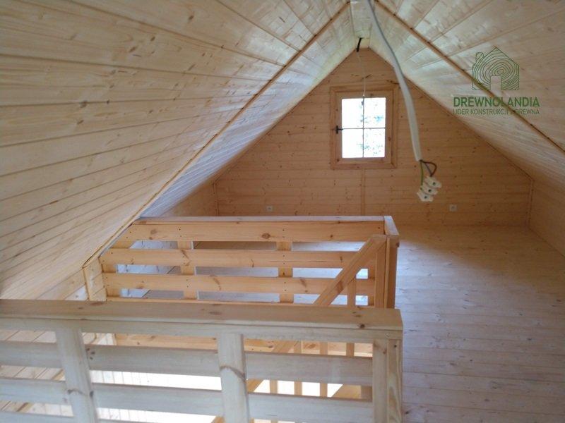 Olaf domek z drewna drewnolandia