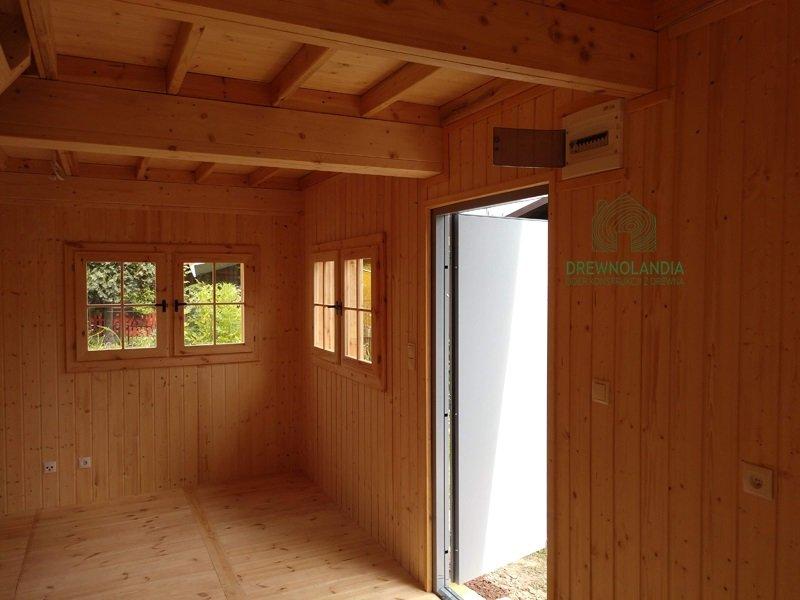 Domki kanadyjskie z drewna wnetrze