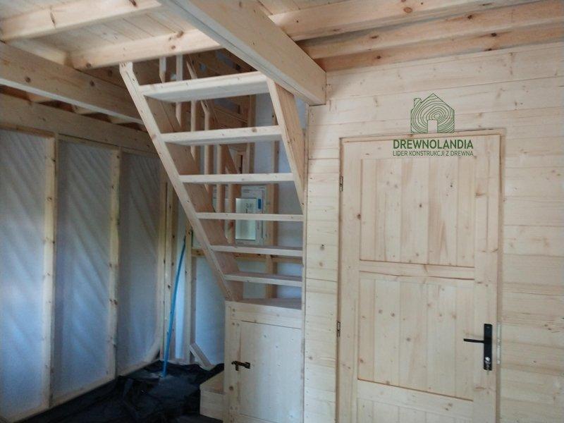 Domek olaf wnetrze domki z drewna