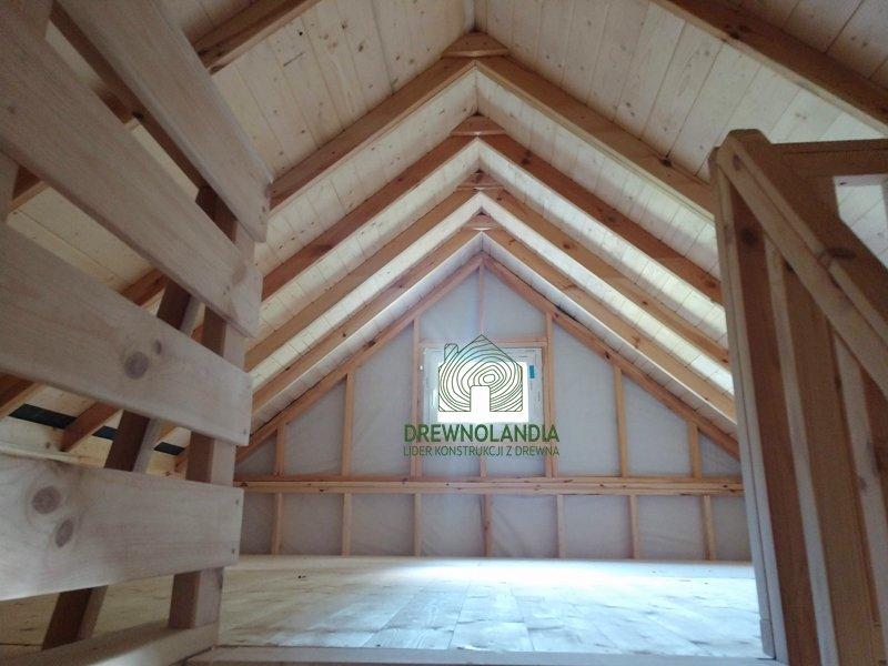 Drewnolandia domki z drewna wnetrze