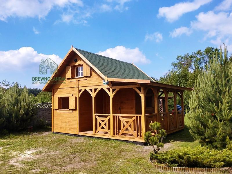 Drewniane domki na wakacje cena
