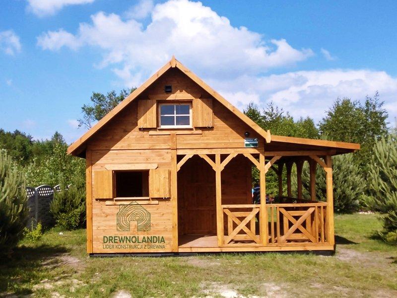 Dom drewniany na wakacje cena