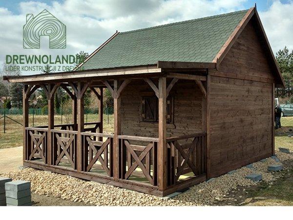 Domki drewniane na dzialke rekreacyjna