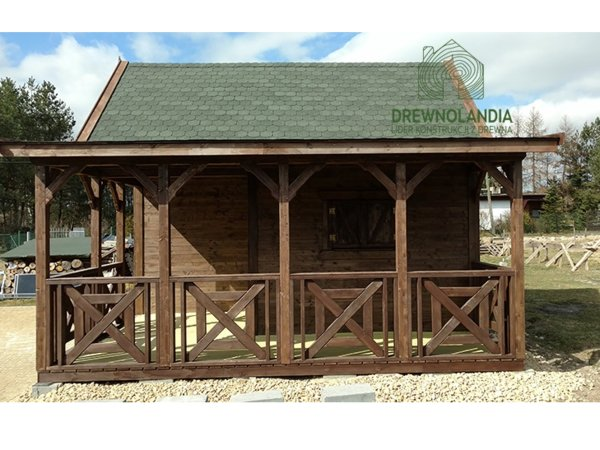 Letniskowe drewniane cena domki rekreacyjne