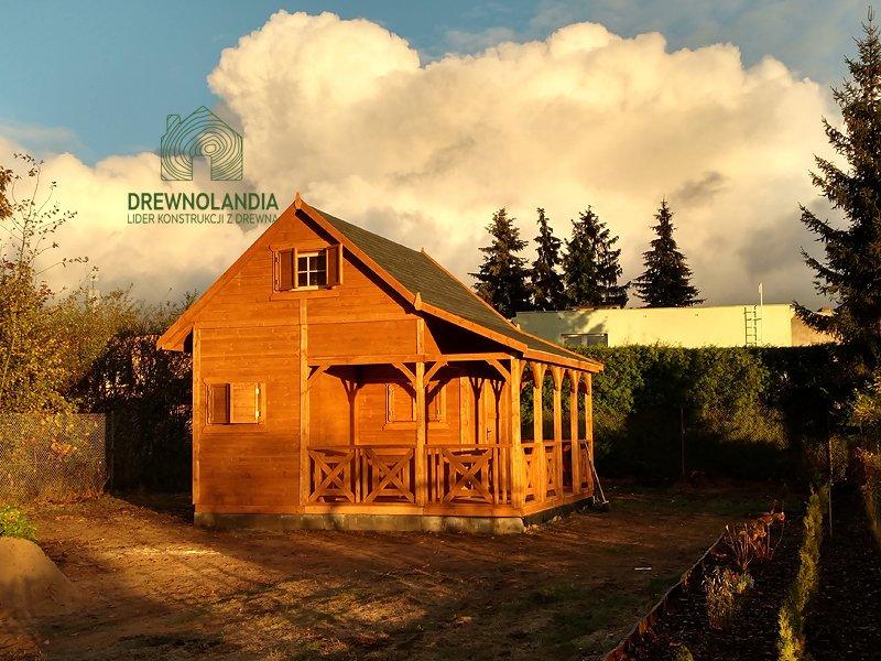 Domek drewnolandia bez pozwolen