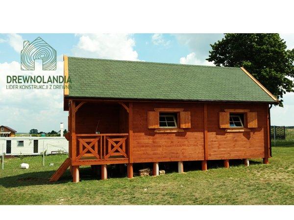 Domki ogrodowe z drewna