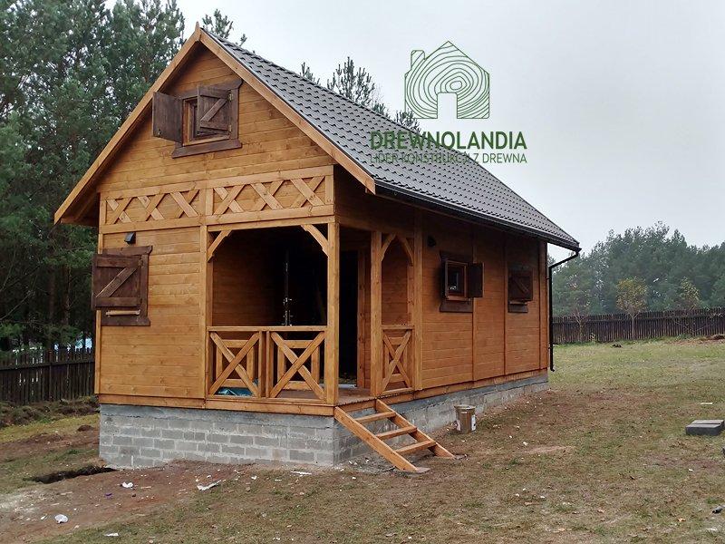 Domek bez zezwolen ogrodowy