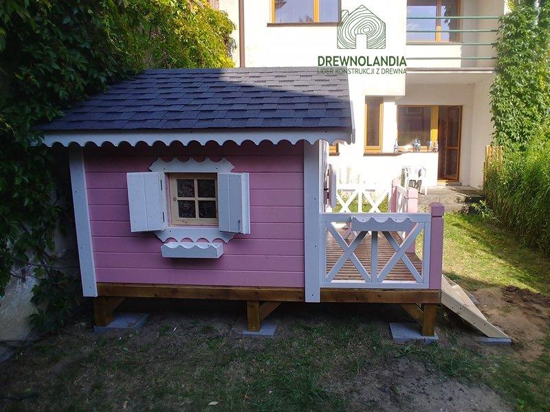 Drewnolandia drewniane domki dla dzieci