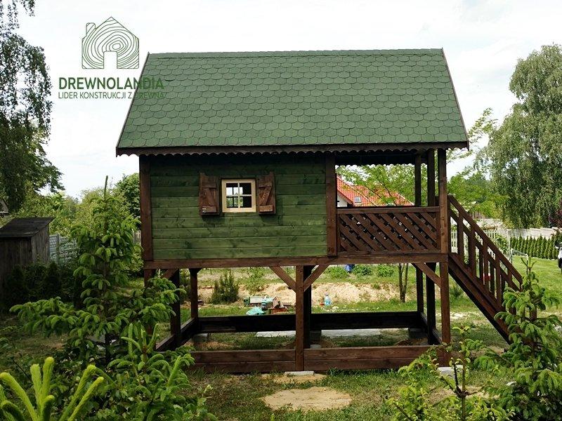 Drewniany domek dla dzieci cena