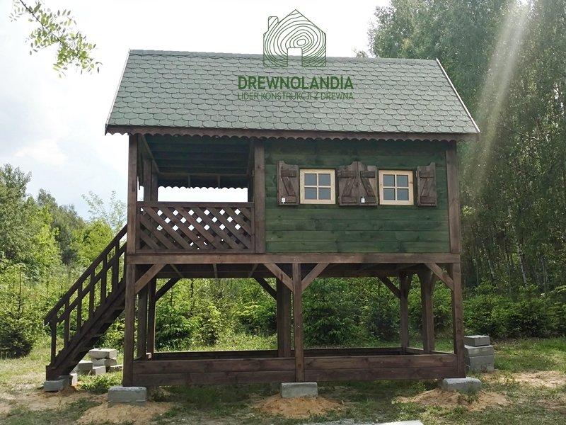 Domek dla dzieci drewniany do zabawy