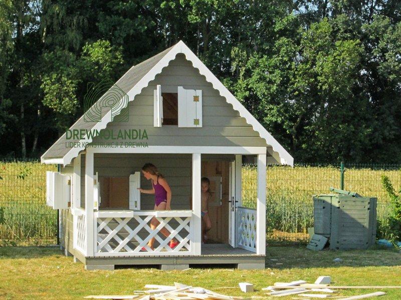 Drewniane domki dla dzieci 2016