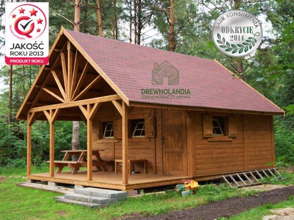 Drewniany domek letniskowy bez pozwolenia na budowe 2017