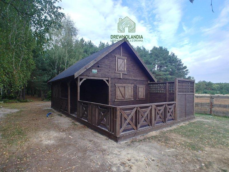 Duze domy drewniane cala polska cena