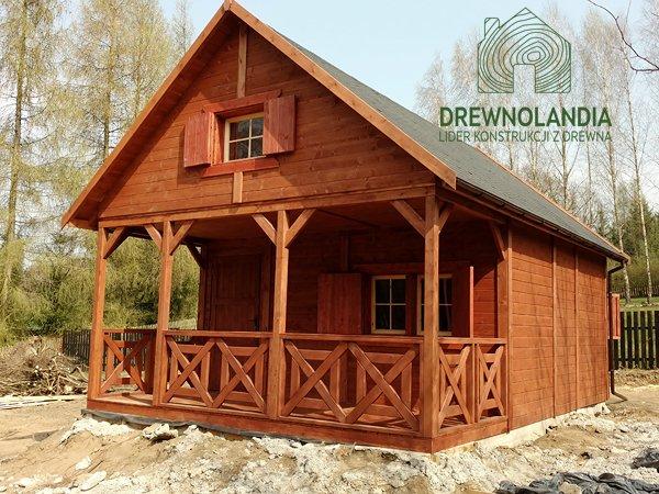 Domek z drewna bez pozwolen