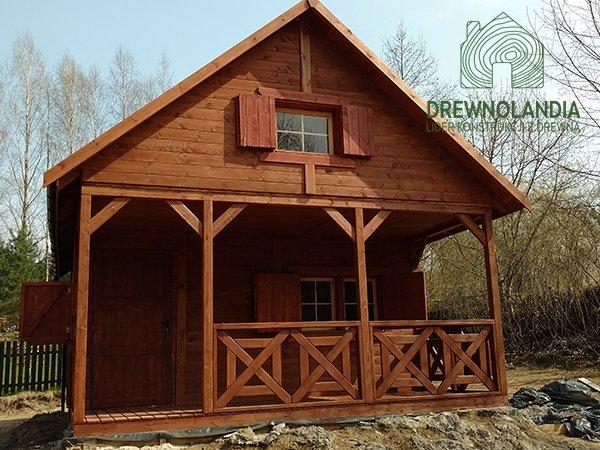 Domy drewniane cena