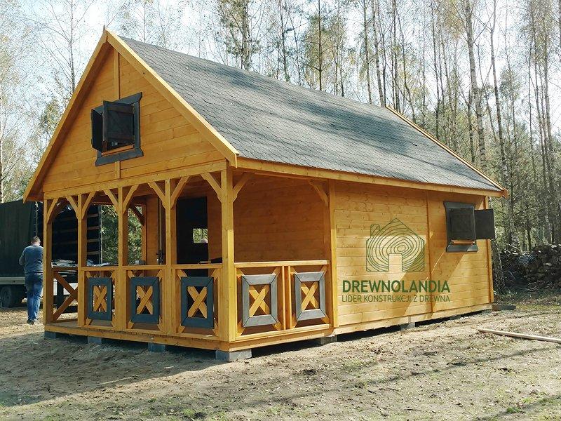 Domek drewniany drewnolandia