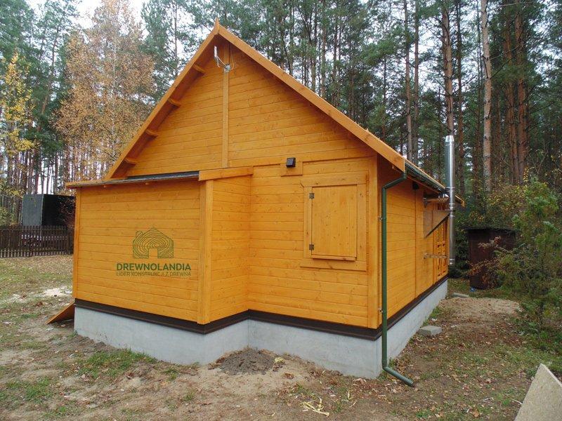 Domek drewniany na Rodzinne Ogrody dzialkowe 2017
