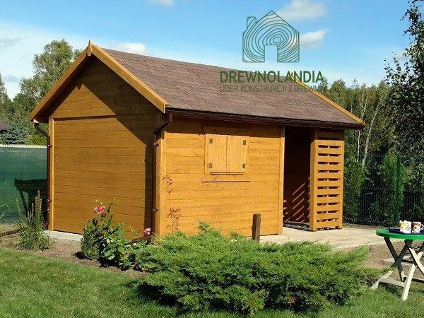 Drewniane domki gospodarcze