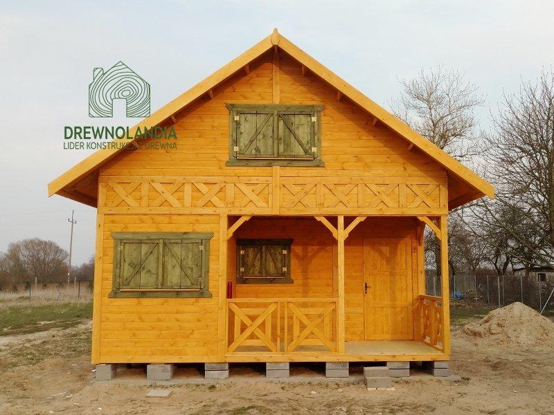 Caloroczny domek na dzialke