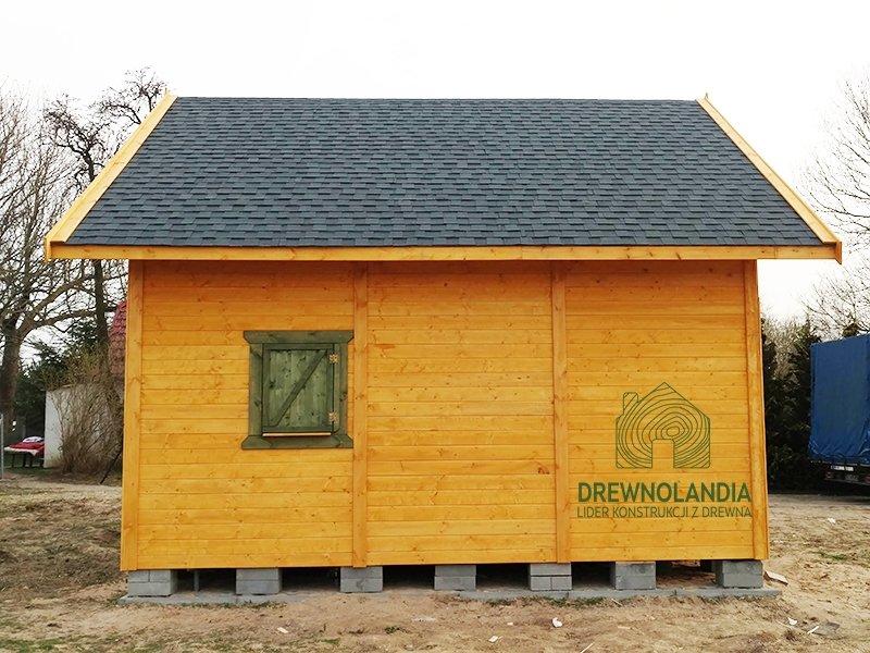Drewniane domki na dzialke caloroczne