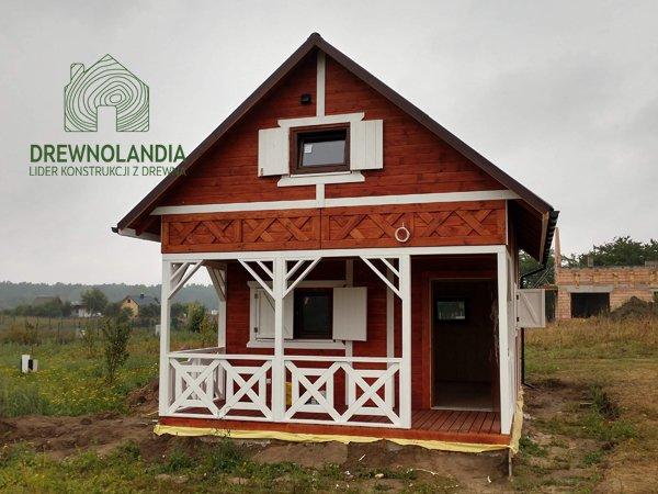 Domek rekreacyjny z drewna bez pozwolen