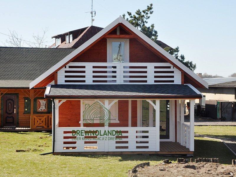 Drewnolandia domek bez pozwolenia