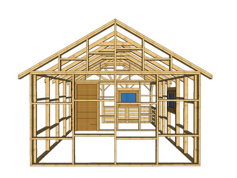 Drewnolandia domek drewniany