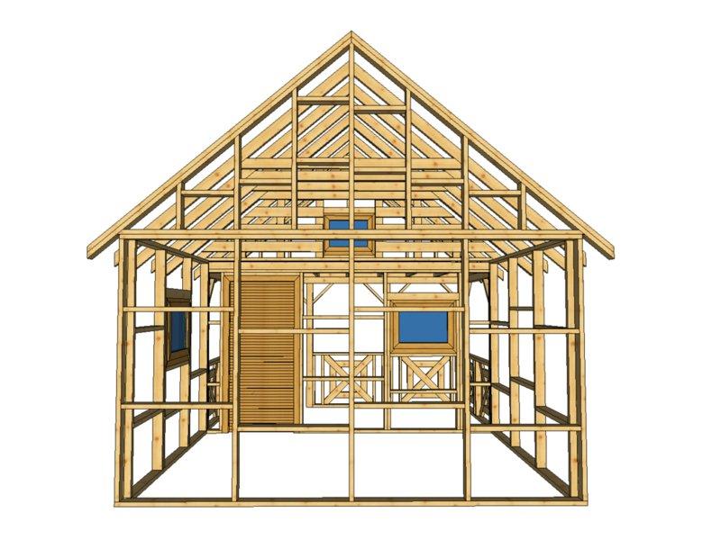 Producent konstrukcji z drewna