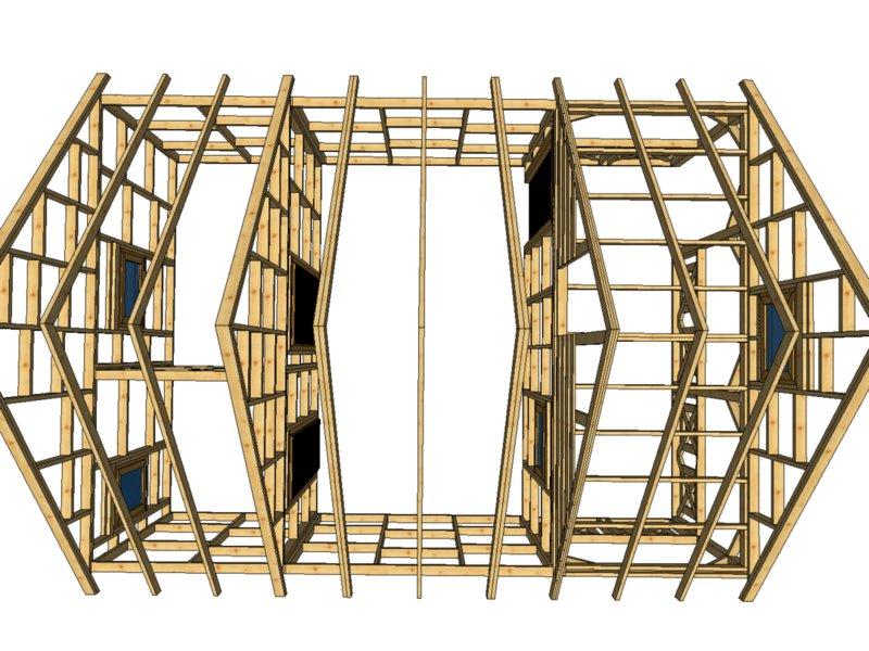Drewnolandia domek drewniany letniskowy