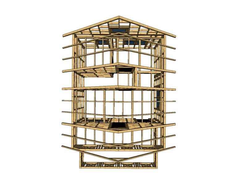 Drewnolandia dom do wlasnego wykonczenia