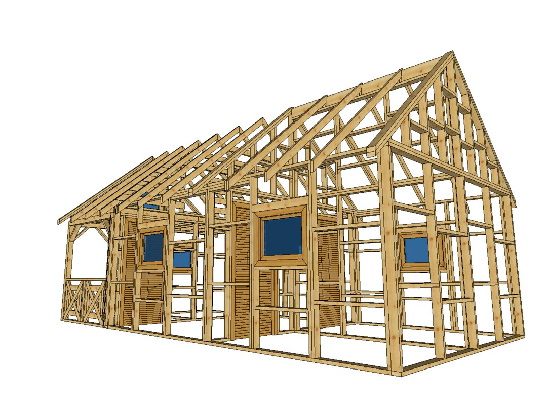 Domek do 35 metrow kwadratowych
