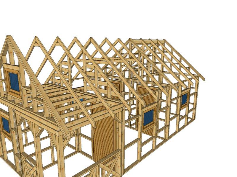 Dom z drewna drewnolandia