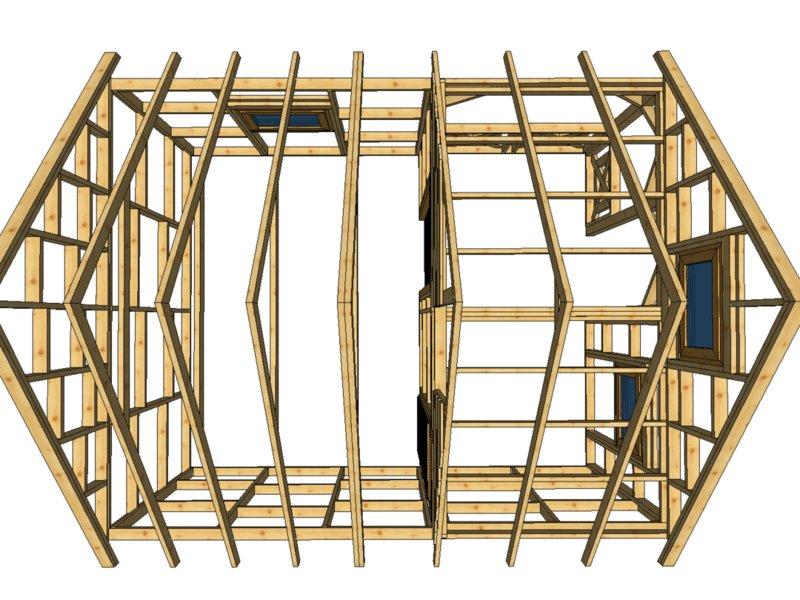 Szkieletowy domek do 35 metrow kwadratowych