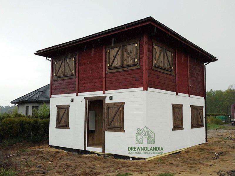 Drewnolandia producent duży dom z poddaszem