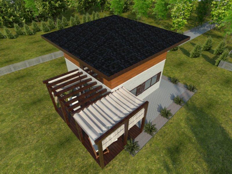 dom z dachem kopertowym łukasz drewnolandia