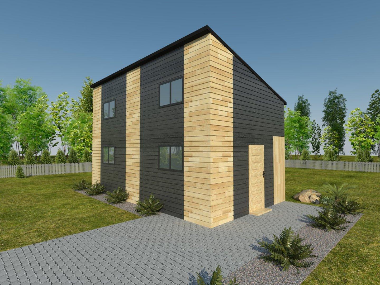 producent domów drewnianych wancerzów