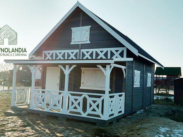 drewnolandia domek janusz z tarasem