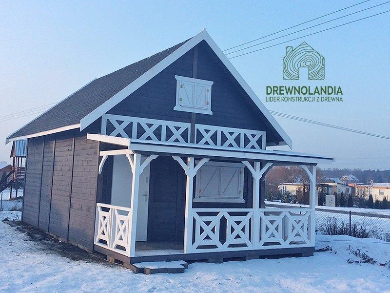 domek z drewna na zgłoszenie drewnolandia