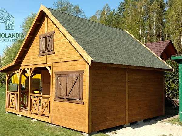 Domy drewniane na dzialke rekreacyjna
