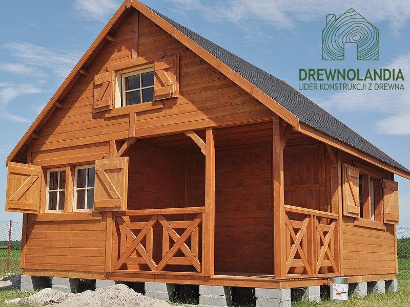Domek z drewna producent pl
