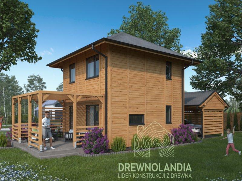 domki całoroczne z drewna drewnolandia