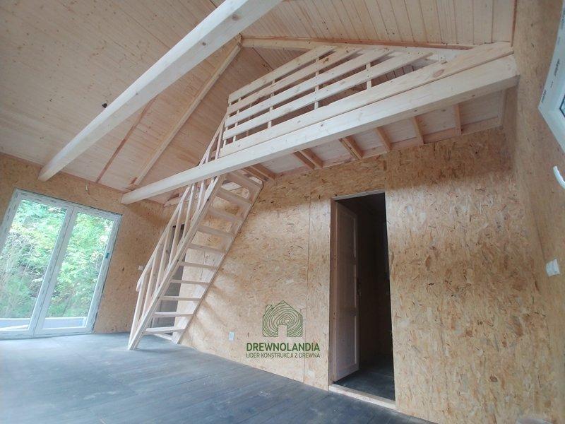 Dom nowoczesna stodoła wnętrze