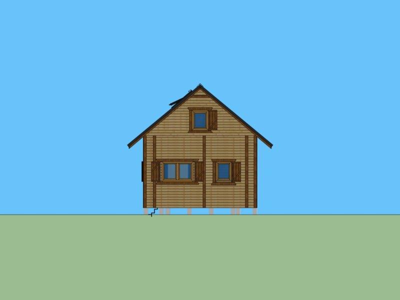 drewniane domy ceny