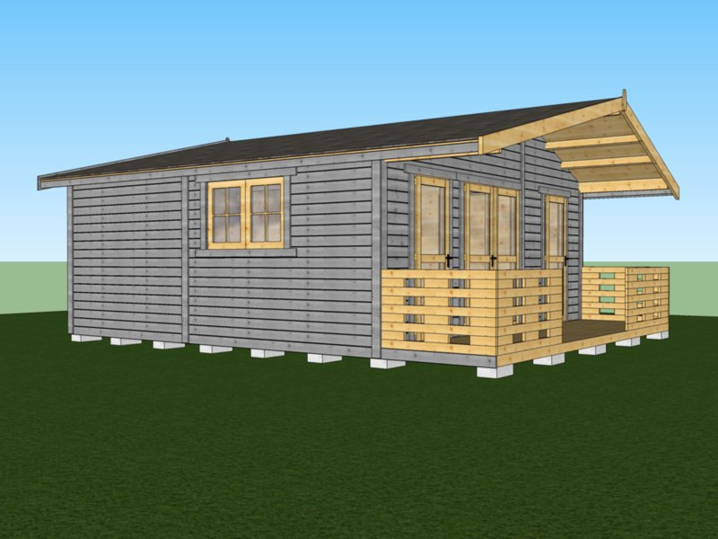 kanadyjskie domki z drewna na działkę i ogródki działkowe