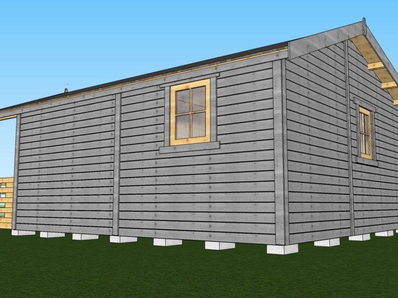 domy i domki drewniane ceny