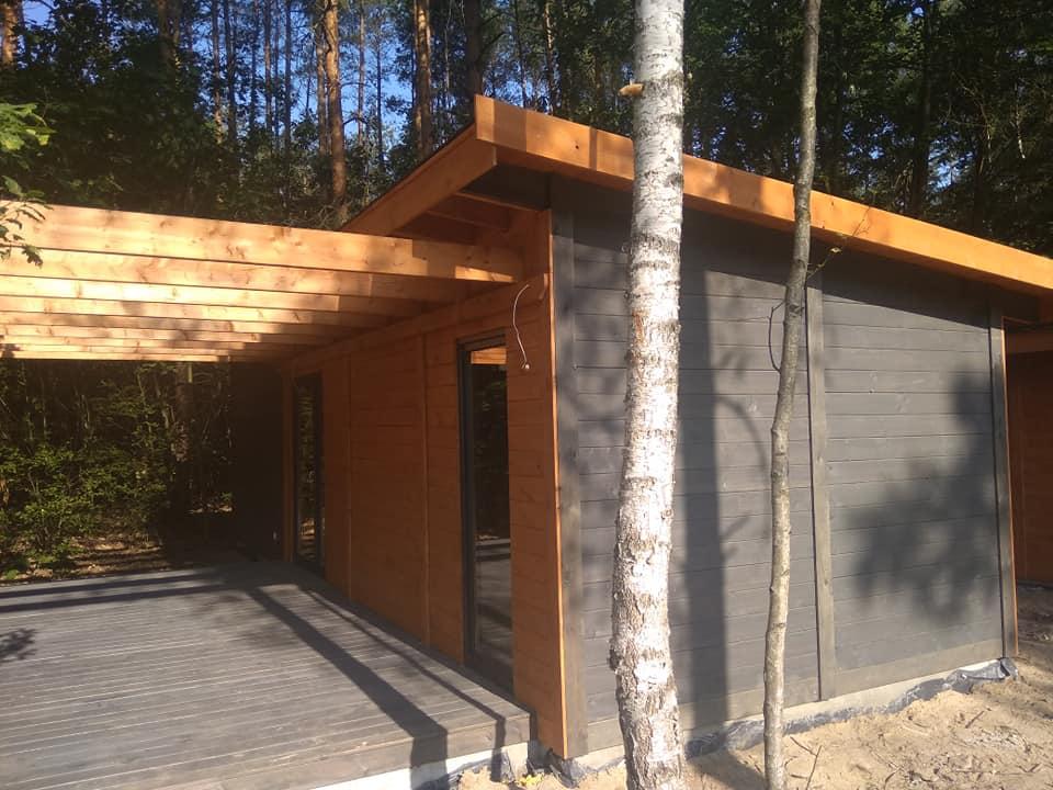 domki drewniane letniskowe