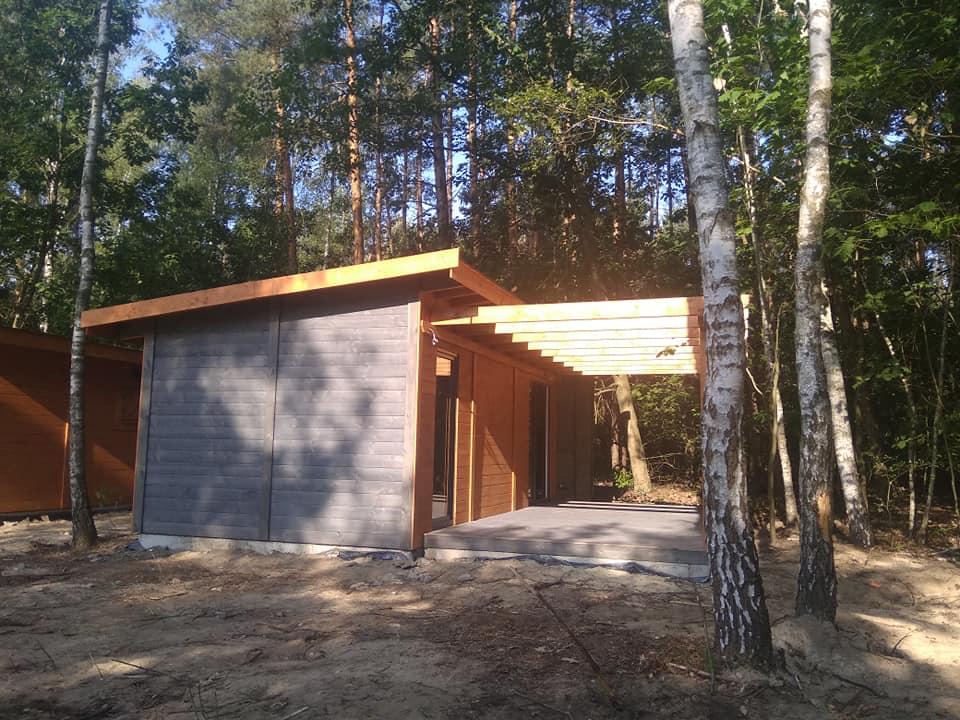 montaż domów drewnianych cena