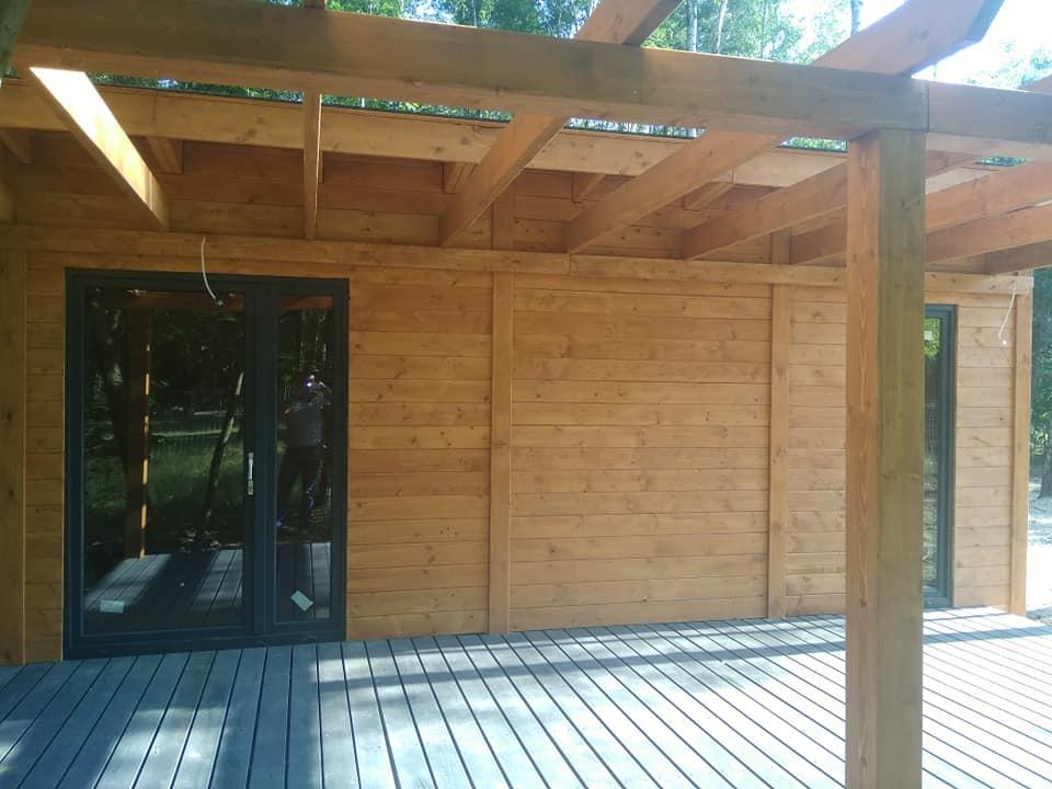 impregnacja domków drewnianych