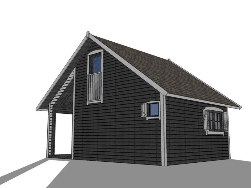 domki drewniane ogrodowe